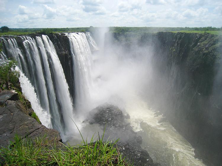 ザンビア ビクトリアの滝 エンジェルプール