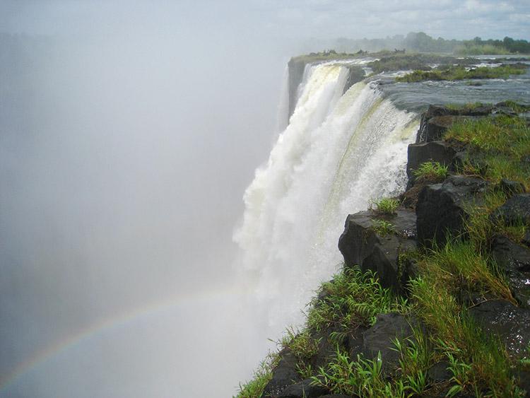 ザンビア ビクトリアの滝 デビルズプール