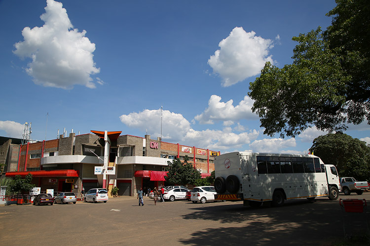 ジンバブエ ビクトリアフォールズ スーパー