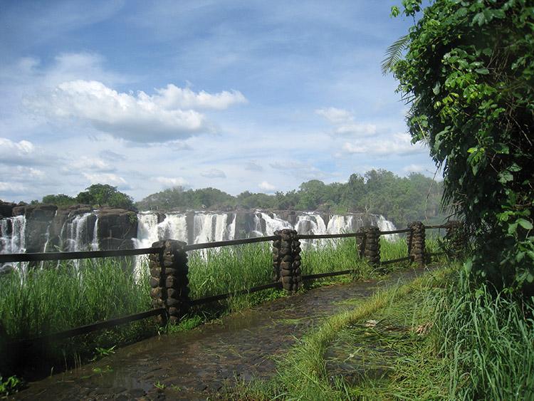 ザンビア ビクトリアの滝