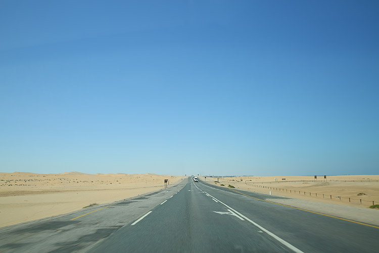 ナミビア ドライブ