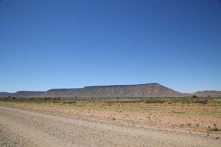 ナミビア テーブルマウンテン