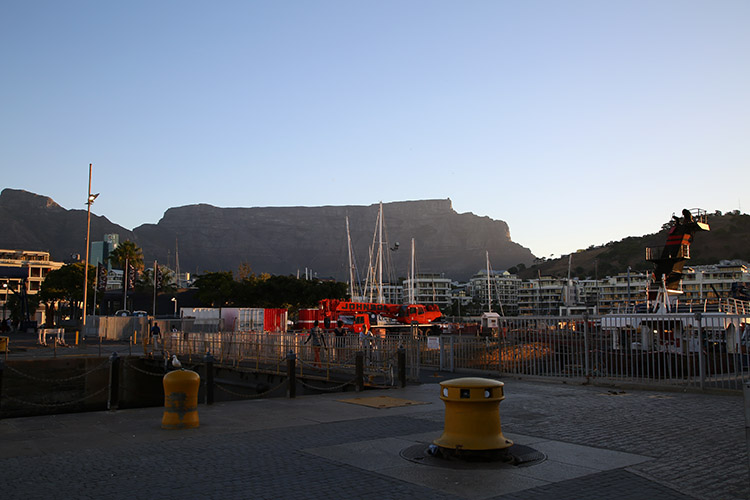 南アフリカ ケープタウン テーブルマウンテン