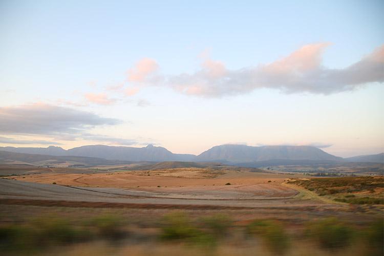 南アフリカ オーツホーン