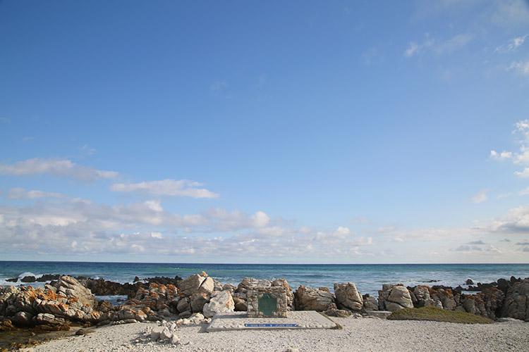 南アフリカ 最南端 アグラス岬