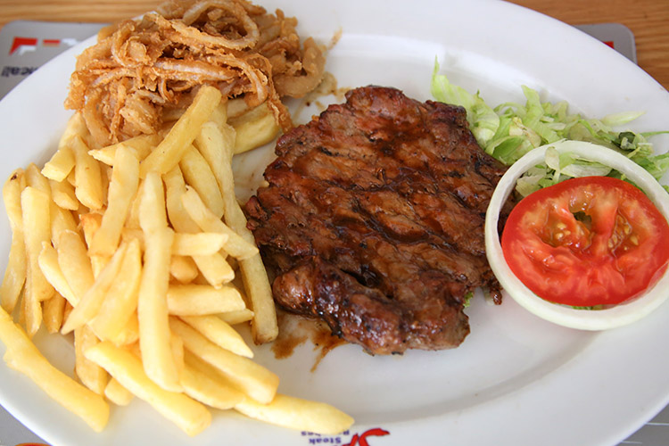 ケープタウン レストラン ステーキ