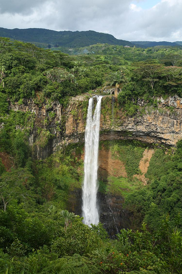 シャマレルの滝 モーリシャス