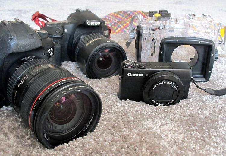 世界一周 カメラ