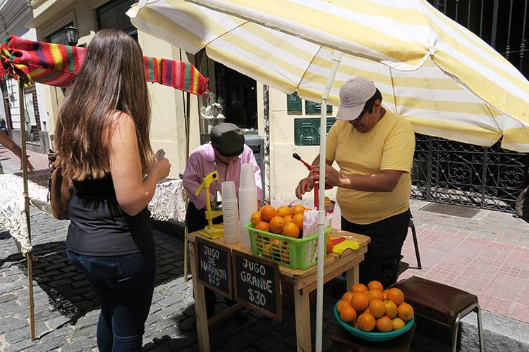 ブエノスアイレス オレンジジュース