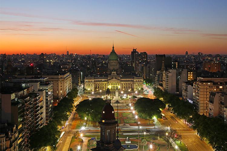 ブエノスアイレス 夜景
