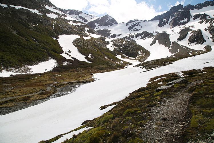 ウシュアイア マルティアル氷河