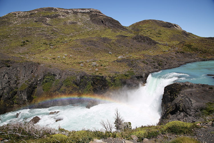 パイネ国立公園 サルト・グランデ