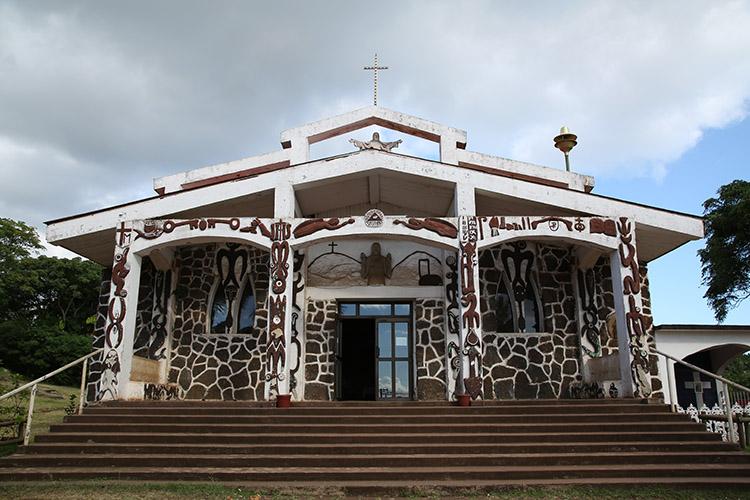 イースター島 教会