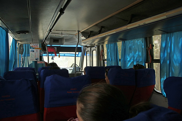 Monte Patoria バス