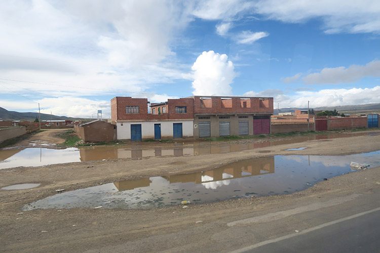ラパス ボリビア バス