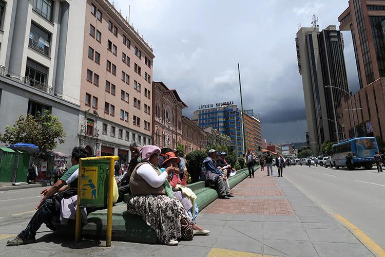 ラパス ボリビア 街