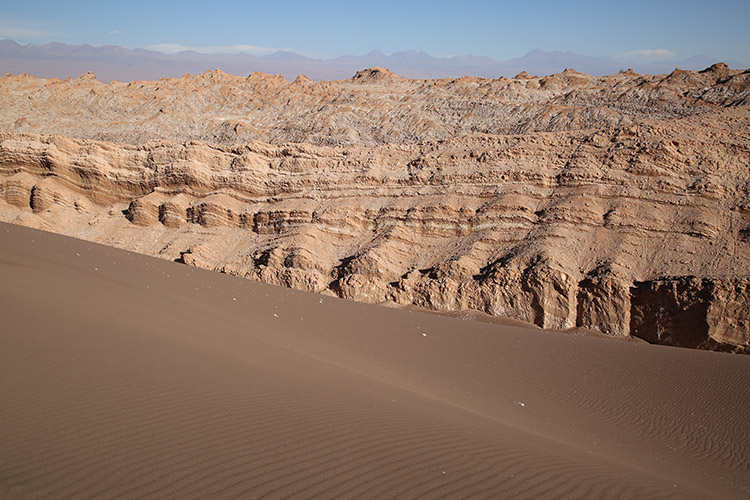 アタカマ砂漠 月の谷 ツアー