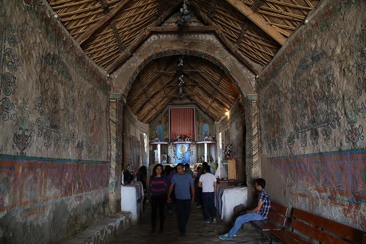 ラウカ パリナコタ村 教会