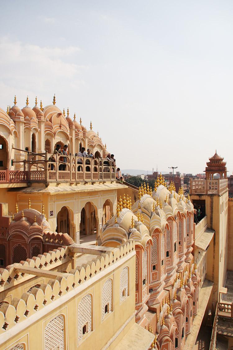 ジャイプル 風の宮殿
