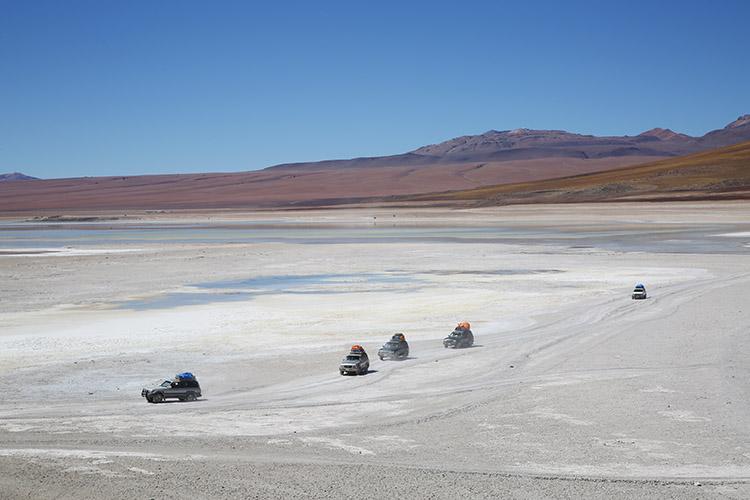 ウユニ塩湖 ツアー ラグナ・ベルデ