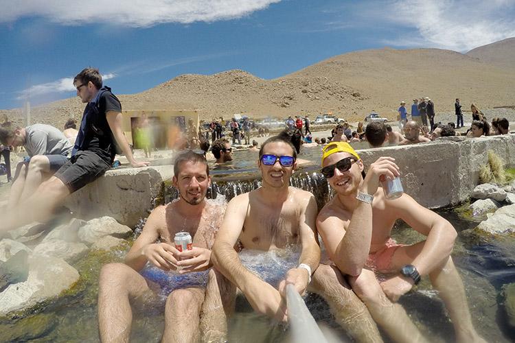ボリビア 温泉 ツアー