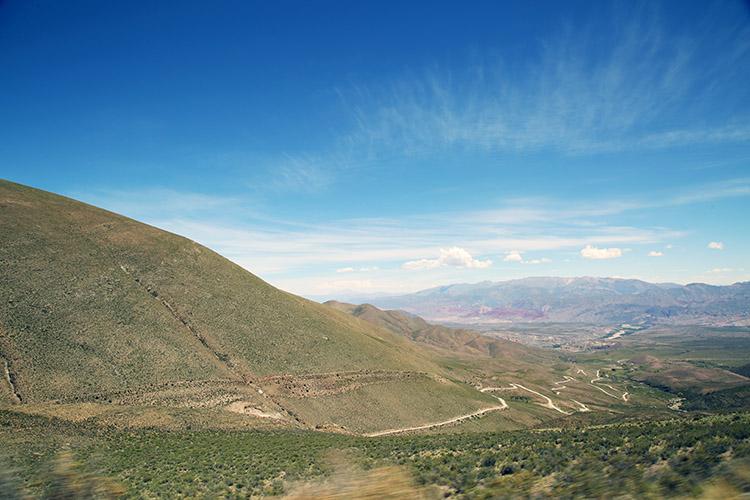 ウマワカ渓谷 Hornocal 絶景