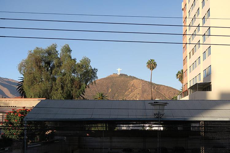 コチャバンバ ボリビア キリスト像