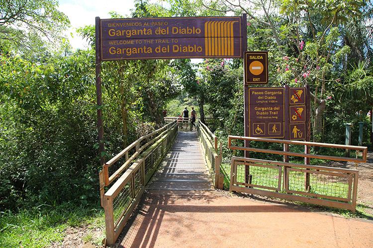 イグアスの滝 アルゼンチン 悪魔ののど笛