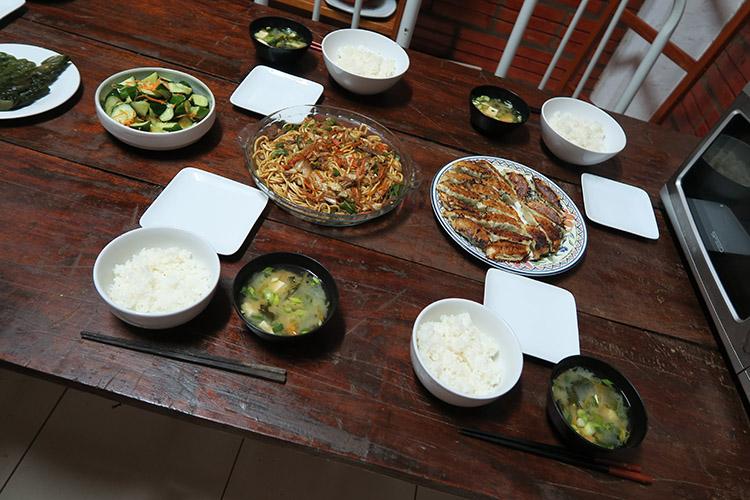 民宿小林 食事 ご飯 和食