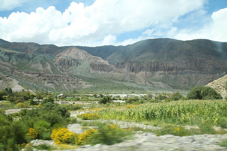 ウマワカ渓谷 プルママルカ ティルカラ