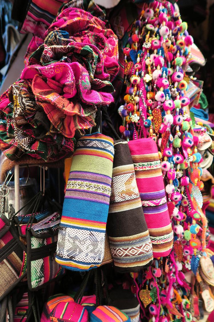 コチャバンバ メルカド 民芸品市場