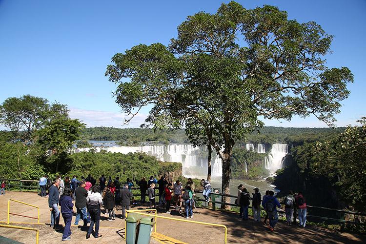イグアスの滝 ブラジル