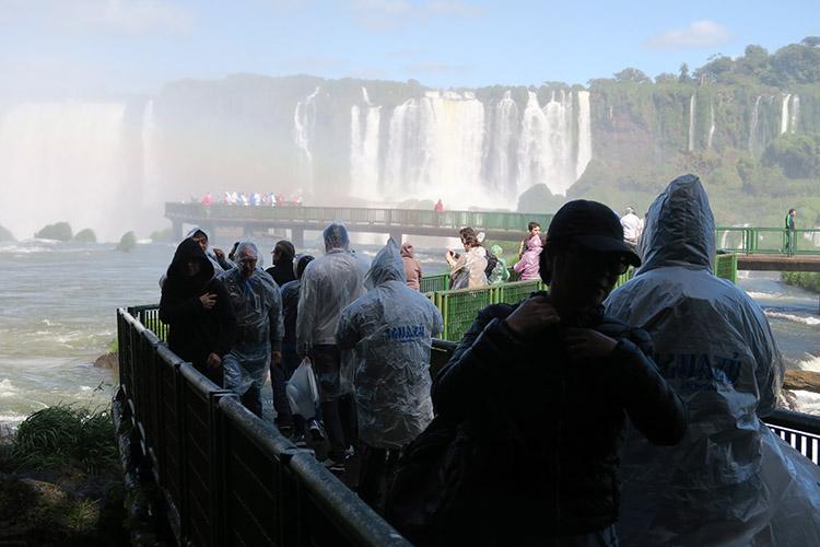 イグアスの滝 ブラジル 悪魔ののど笛