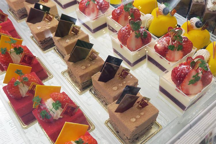 チョコレートショップ 博多 ケーキ