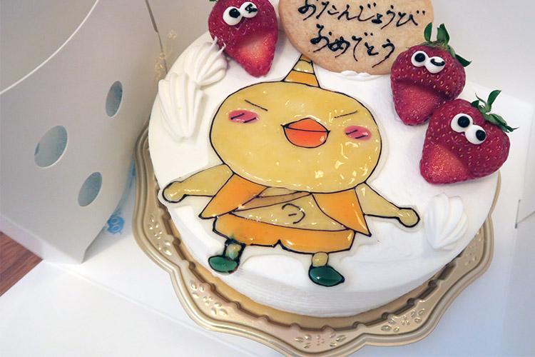 東区 オペラ キャラクターケーキ