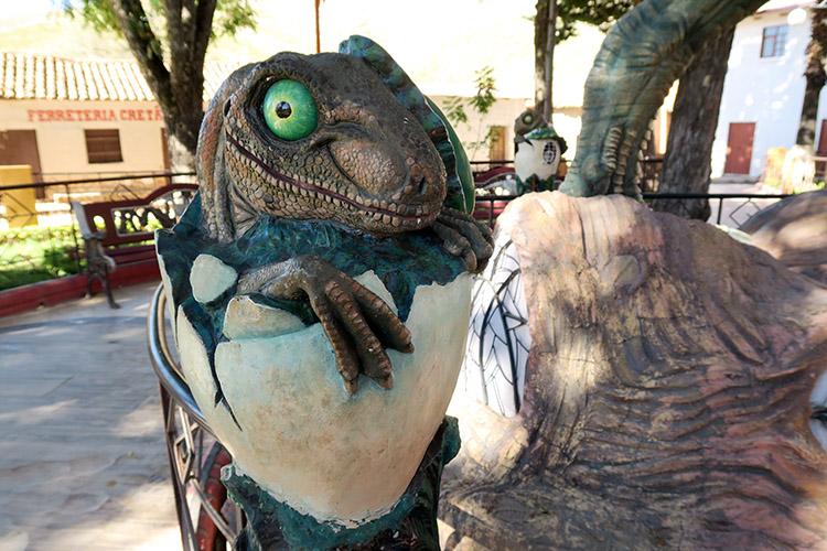トロトロ 恐竜の足跡 ボリビア