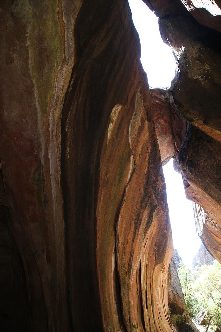 トロトロ ボリビア トレッキング イタス 洞窟