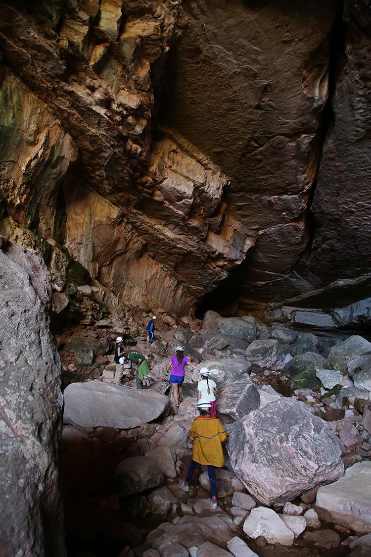 トロトロ ボリビア 鍾乳洞 Caverna de Umajalanta