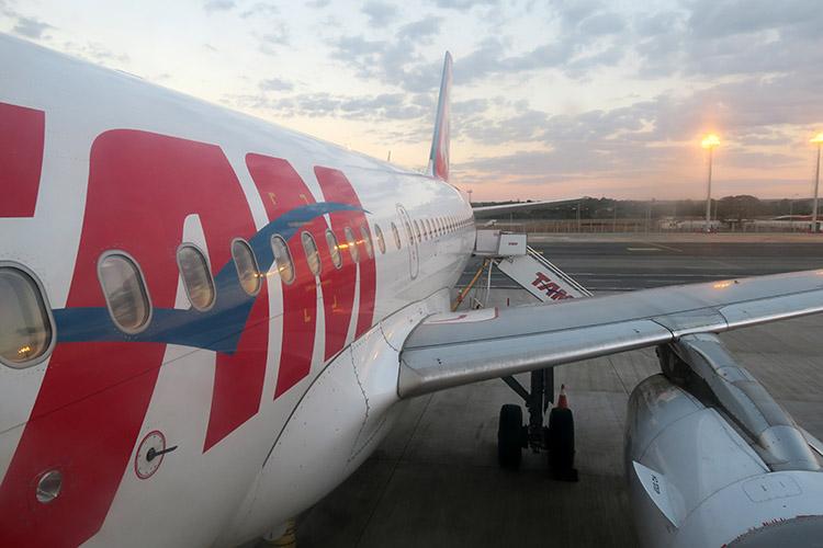 TAM航空 マナウス リオ ブラジル
