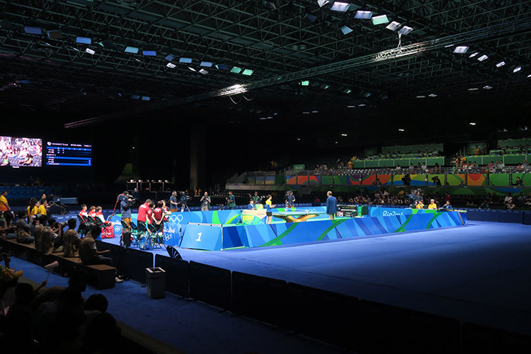 リオオリンピック 2016 卓球女子 団体 3位決定戦 銅メダル