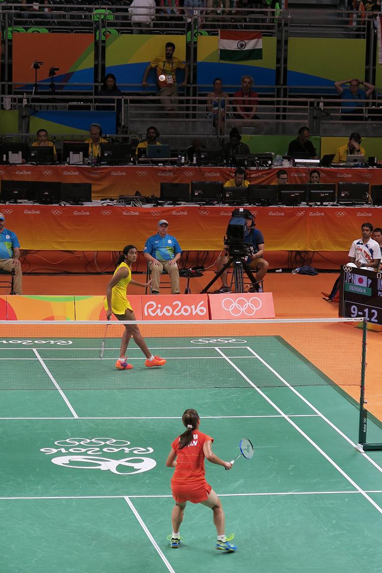 リオオリンピック 2016 五輪 バドミントン 女子シングル 奥原選手