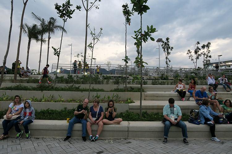 リオオリンピック リオ五輪2016 オリンピックパーク 競技場 バッハ地区