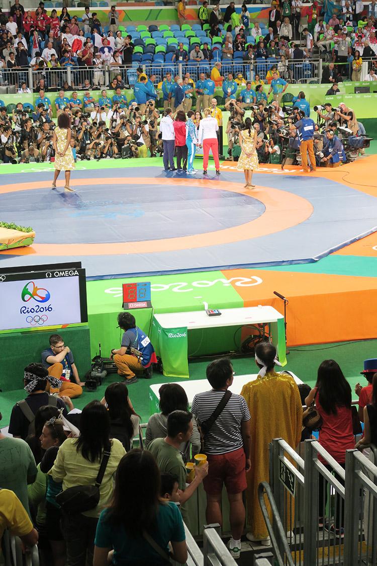 リオオリンピック 2016 五輪 レスリング 江頭2:50 エガちゃん