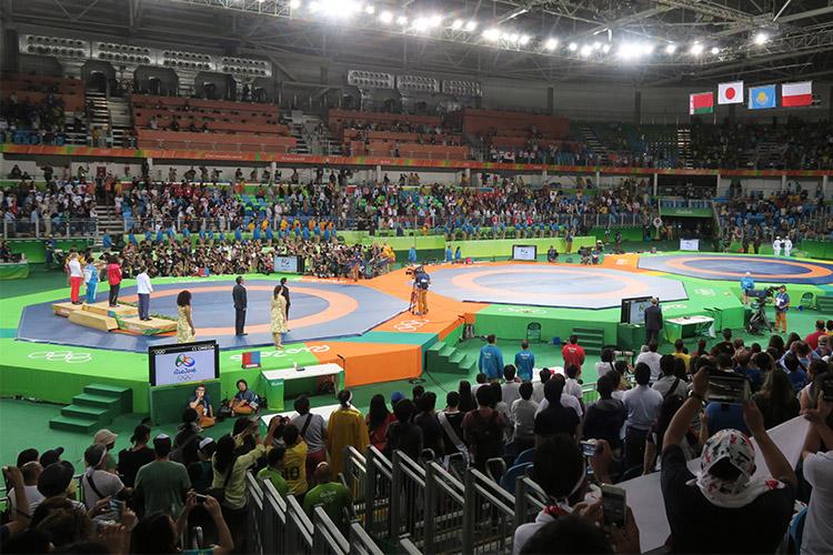 リオオリンピック 2016 五輪 レスリング 吉田沙保里 川井選手 金メダル