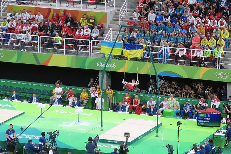 オリンピック 体操 内村航平 金メダル 現地観戦 吊り輪