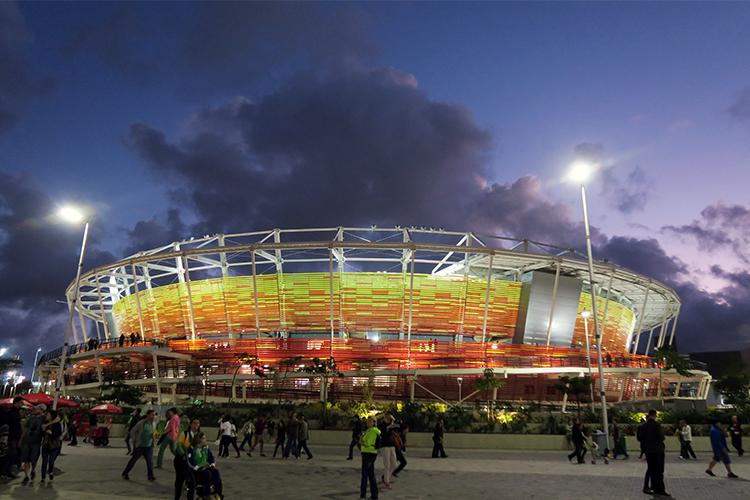 リオオリンピック 2016 バッハ地区 試合会場