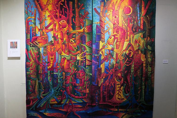 クスコ MAXIMO LAURA ギャラリー タペストリー