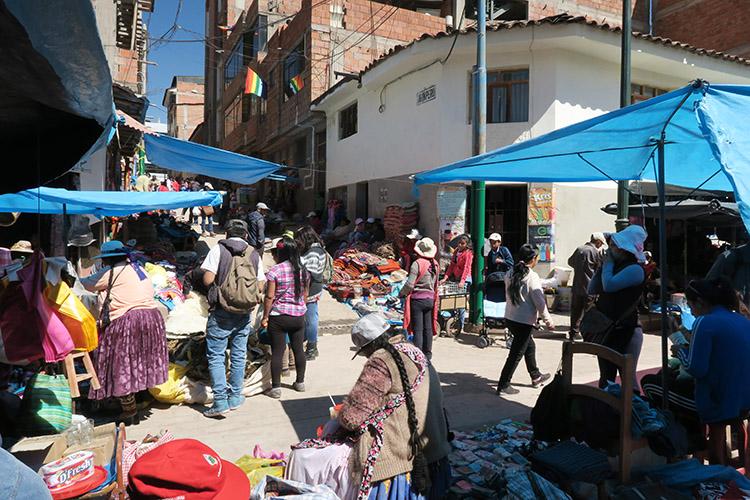 クスコ ペルー 泥棒市