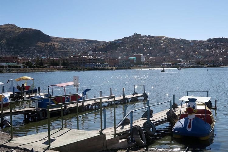 ペルー プーノ 街歩き チチカカ湖