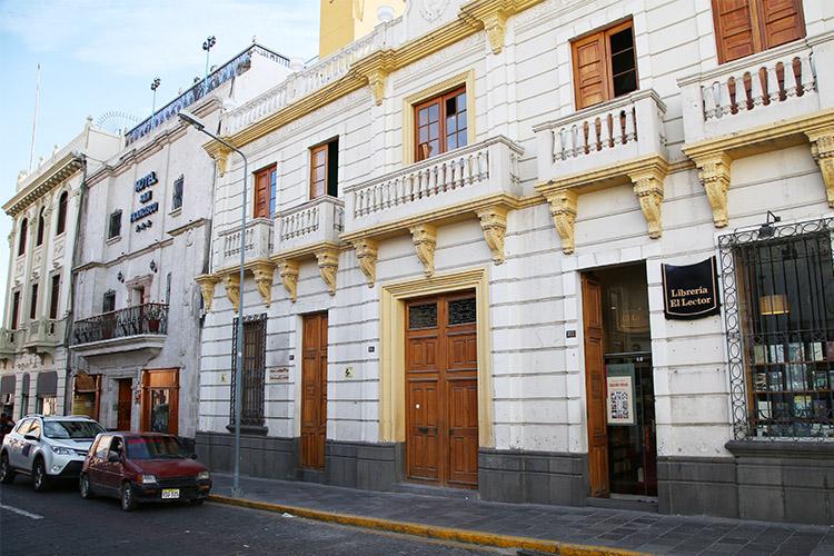 アレキパ ペルー 白い街